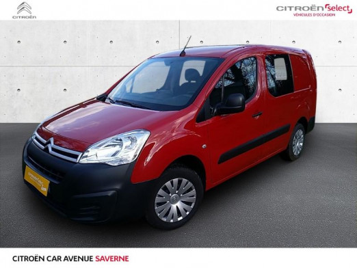 Used CITROEN Berlingo 21 L2 1.6 HDi 90 Cabine Approfondie Confort 2015 Rouge Ardent € 8,790 in Saverne