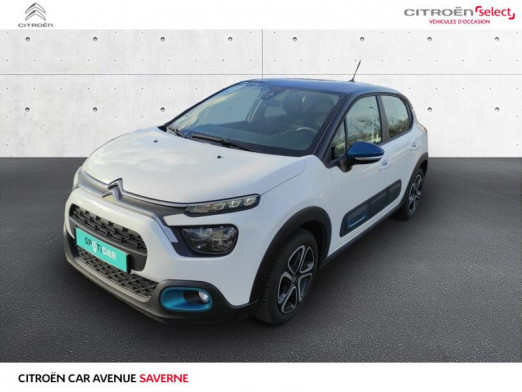 Used CITROEN C3 PureTech 110ch Feel S&S E6.d 2020 Blanc Banquise € 16,490 in Saverne
