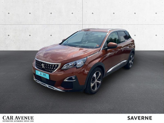 Used PEUGEOT 3008 1.5 BlueHDi 130ch E6.c Allure S&S 2018 Metallic Copper (M) € 22,000 in Saverne