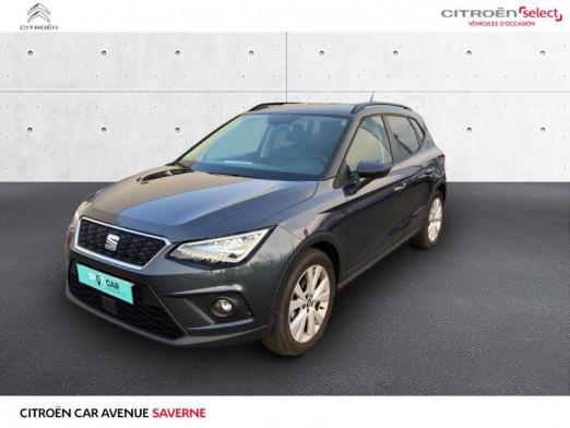 Occasion SEAT Arona 1.0 EcoTSI 95ch Start/Stop Urban Euro6d-T 2020 Gris Magnétique/Toit Noir Minuit 16490 € à Saverne