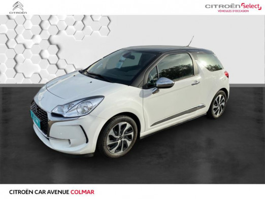 Occasion DS DS 3 hdi 100 gps So Chic 2017 Blanc Banquise (O) 11990 € à Sélestat