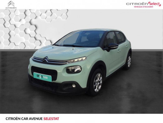 Occasion CITROEN C3 PureTech 68 Feel 2018 Almond Green 9 490 € à Sélestat