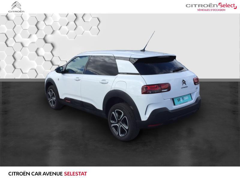 Occasion CITROEN C4 Cactus BlueHDi 100 C-Series caméra gps 2020 Blanc Banquise (O) 18990 € à Sélestat