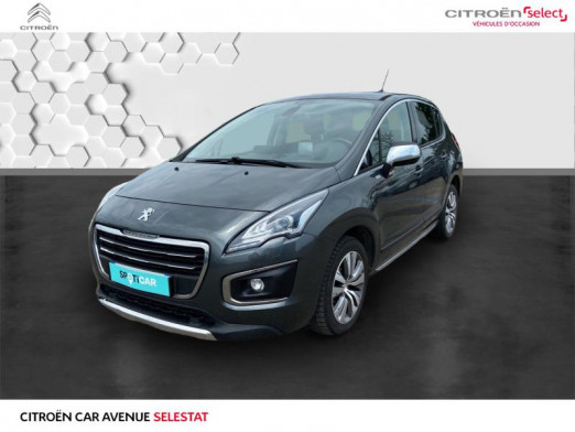 Used PEUGEOT 3008 1.6 BlueHDi 120ch Style II S&S 2015 Gris Shark € 10,990 in Sélestat
