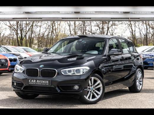 Occasion BMW Série 1 120dA 190ch Lounge 5p 2017 Schwarz 19990 € à Sélestat