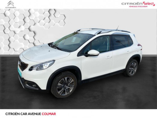 Used PEUGEOT 2008 1.2 essence 82 gps 2019 Blanc Banquise € 12,990 in Colmar