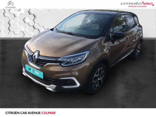 Occasion RENAULT Captur 0.9 essence 90 gps energy Intens 2018 Brun Cappucino/Noir Etoilé 13990 € à Colmar