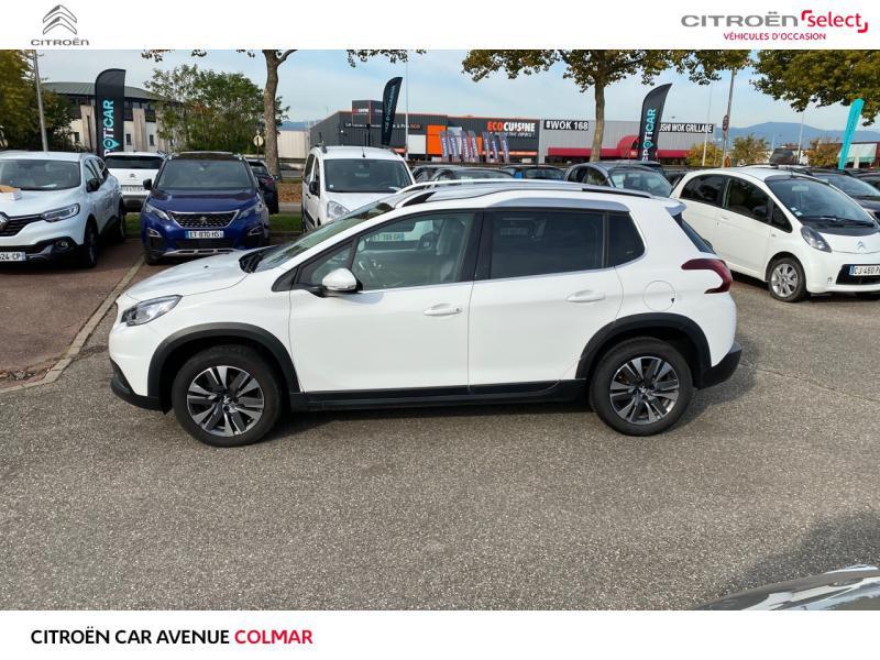Occasion PEUGEOT 2008 1.2 essence 82 gps 2019 Blanc Banquise 12990 € à Colmar