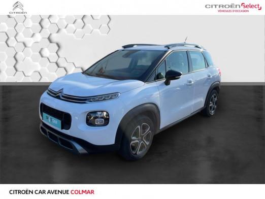 Occasion CITROEN C3 Aircross BlueHDi 100ch S&S Feel E6.d-TEMP 2019 Natural White (O) - Ink Black 14990 € à Colmar