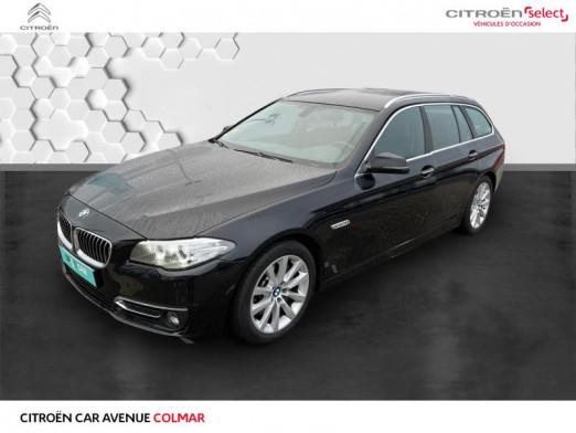 Occasion BMW Série 5 Touring 530dA xDrive 258 Luxury 2013 Saphirschwarz 21990 € à Colmar