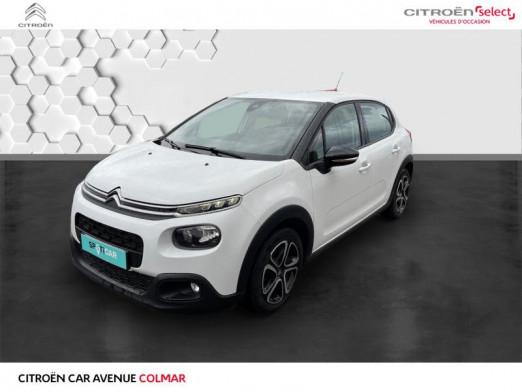 Occasion CITROEN C3 PureTech 82ch Shine S&S E6.d-TEMP 2018 Blanc Banquise 12990 € à Colmar