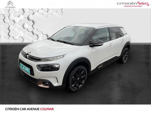 Occasion CITROEN C4 Cactus PureTech 110ch S&S Origins E6.d 2019 Blanc Banquise (O) 17490 € à Colmar