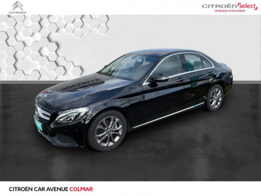 Occasion MERCEDES-BENZ Classe C 180 d Executive 7G-Tronic Plus 2017 Noir 24 990 € à Colmar