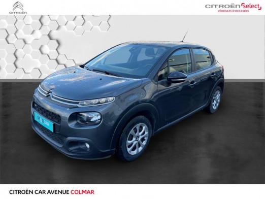 Occasion CITROEN C3 PureTech 82ch Feel 2017 Gris Platinium 10990 € à Colmar