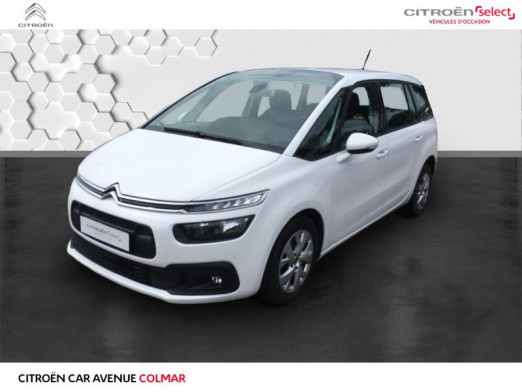 Occasion CITROEN Grand C4 SpaceTourer BlueHDi 120 S&S Business 98g 2017 Blanc Banquise (O) 9 990 € à Colmar