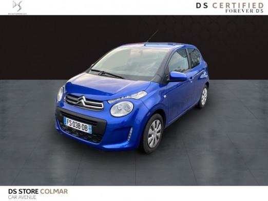 Occasion CITROEN C1 VTi 72 Feel 5p 2020 Bleu Calvi - Toit Noir Caldéra 12900 € à Colmar