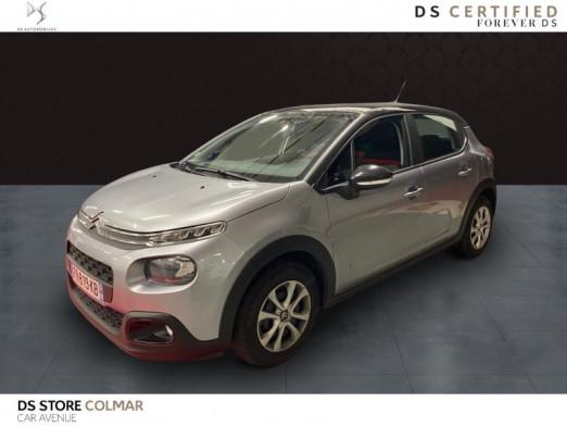 Occasion CITROEN C3 PureTech 110ch Feel S&S E6.d 2020 Gris Acier 16900 € à Colmar