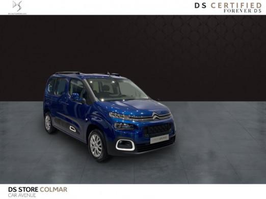 Occasion CITROEN Berlingo M PureTech 130ch S&S Feel EAT8 E6.d 2020 Deep Blue (M) 26300 € à Colmar