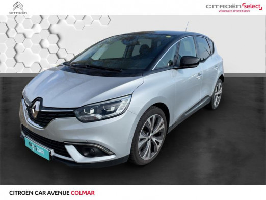 Used RENAULT Scenic 1.5 dCi 110ch energy Intens EDC 2017 Blanc € 15,490 in Colmar