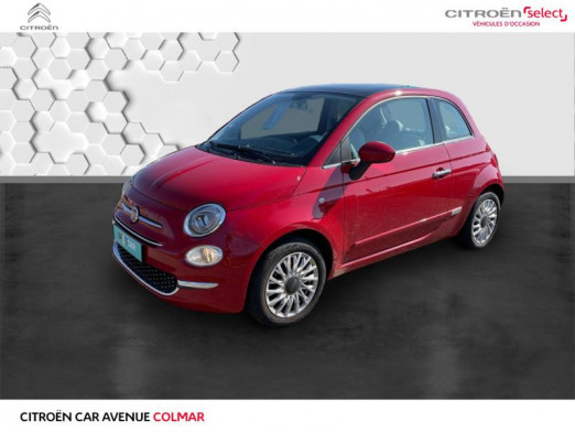 Used FIAT 500 1.2 8v 69ch Eco Pack Lounge Euro6d 2019 Gris € 11,990 in Colmar