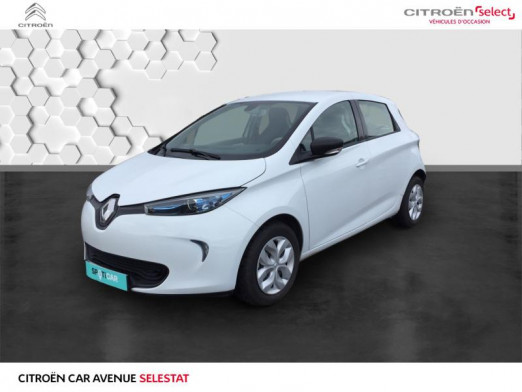 Used RENAULT Zoe Life charge normale R90 MY19 2019 Blanc Nacré € 10,990 in Colmar