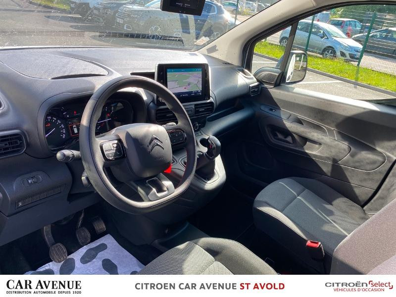 Occasion CITROEN Berlingo Van VUL M 650kg BlueHDi 100 S&S Driver 2018  17990 € à Longeville-lès-Saint-Avold