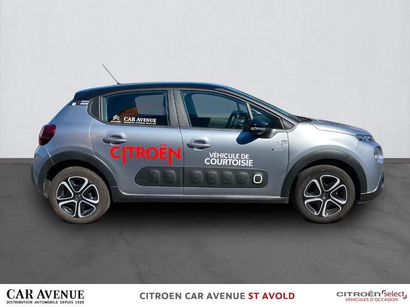 Occasion CITROEN C3 PureTech 82ch Graphic S&S E6.d 2019 gris acier 15990 € à Longeville-lès-Saint-Avold