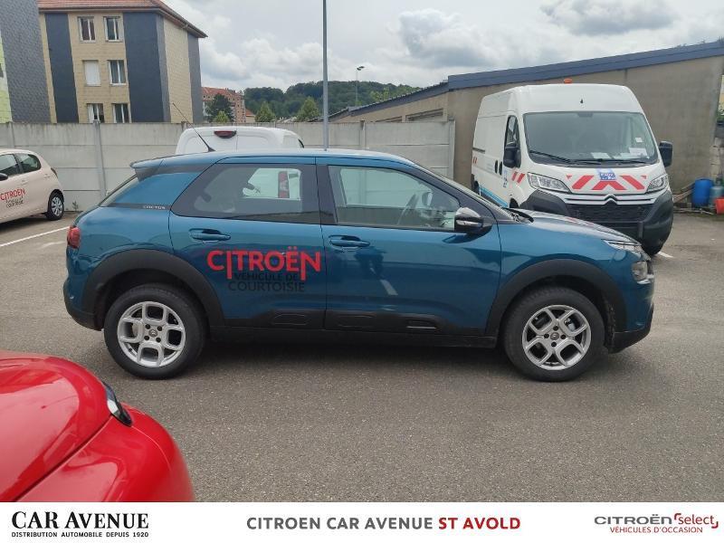 Occasion CITROEN C4 Cactus PureTech 110ch S&S Feel E6.d 2020 EMERAUDE BLUE 19600 € à Longeville-lès-Saint-Avold