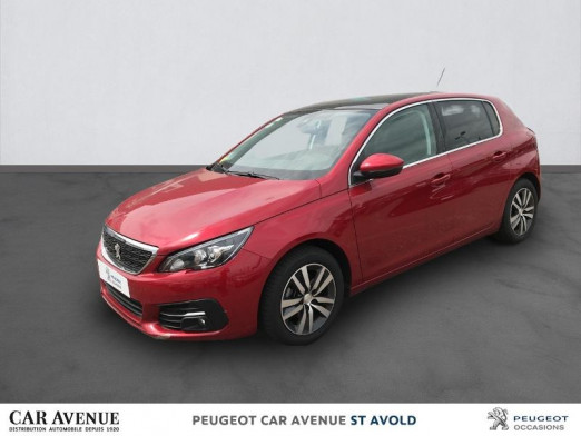 Occasion PEUGEOT 308 1.5 BlueHDi 130ch S&S Allure EAT6 2019 Rouge Ultimate 22 497 € à Longeville-lès-Saint-Avold