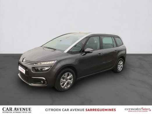 Used CITROEN Grand C4 SpaceTourer BlueHDi 130ch S&S Feel EAT8 E6.d-TEMP 2020 Gris  fonce € 24,600 in Sarreguemines