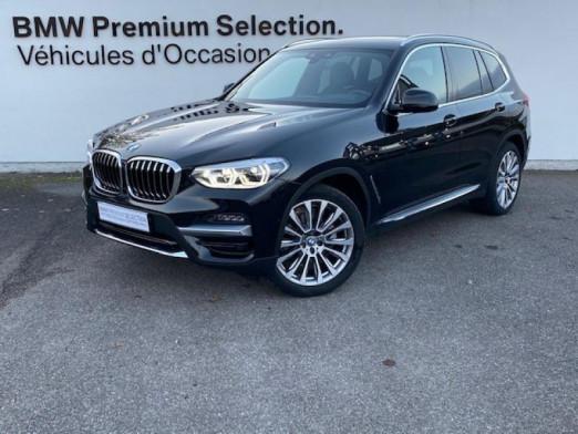 Occasion BMW X3 xDrive20dA 190ch Luxury Euro6d-T 2020 Saphirschwarz 55990 € à Metz