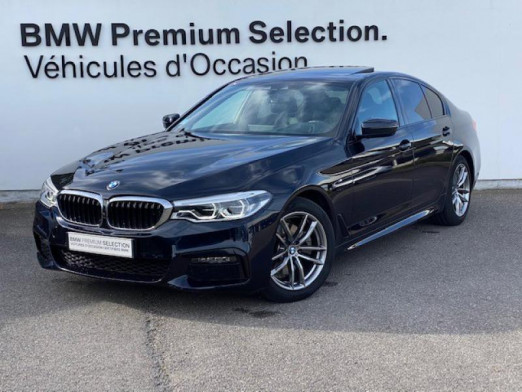 Occasion BMW Série 5 520dA xDrive 190ch M Sport Steptronic Euro6d-T 117g 2019 Carbonschwarz 43990 € à Metz