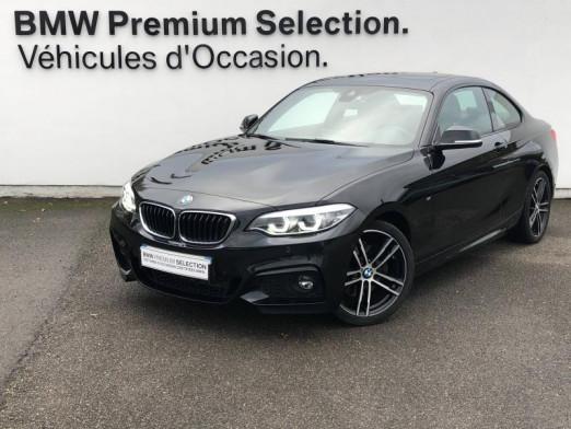 Occasion BMW Série 2 Coupé 220dA 190ch M Sport 2018 Saphirschwarz 31990 € à Metz