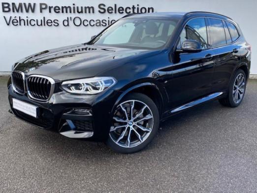 Occasion BMW X3 xDrive20dA 190ch M Sport Euro6d-T 2019 Saphirschwarz 52990 € à Metz