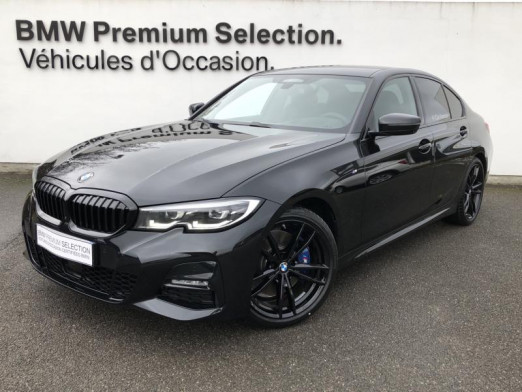 Occasion BMW Série 3 330dA xDrive 265ch M Sport 2020 Saphirschwarz 66500 € à Metz