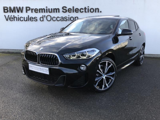 Occasion BMW X2 xDrive20dA 190ch M Sport Euro6d-T 2020 Saphirschwarz 50900 € à Metz