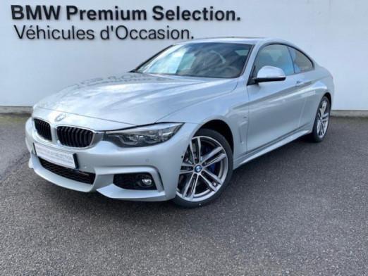 Occasion BMW Série 4 Coupé 430dA xDrive 258ch M Sport Euro6c 2020 Glaciersilber 69900 € à Metz