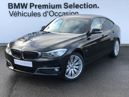 Occasion BMW Série 3 Gran Turismo 320dA xDrive 190ch Luxury 2015 Saphirschwarz 27990 € à Metz
