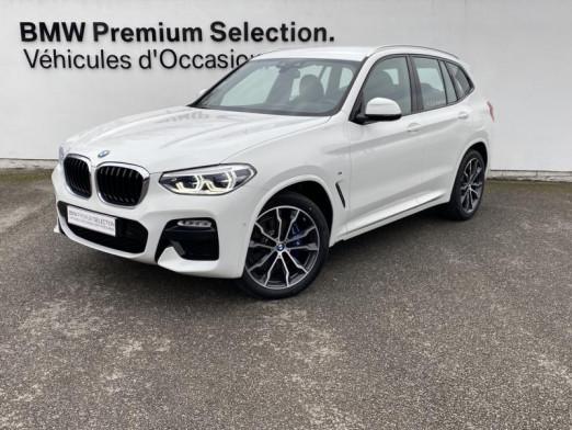 Occasion BMW X3 xDrive30dA 265ch  M Sport 2020 Alpinweiss 65900 € à Metz