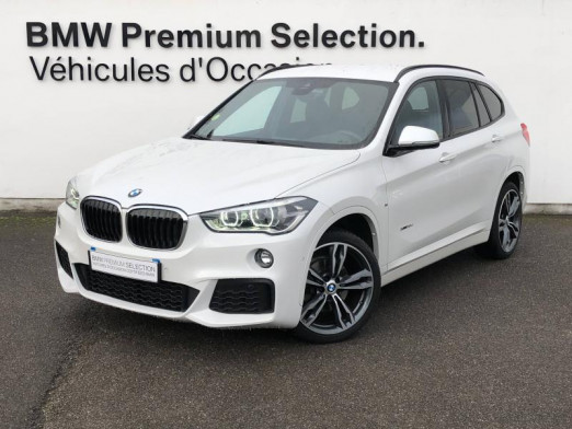 Occasion BMW X1 xDrive18dA 150ch M Sport 2017 Mineralweiss 32490 € à Metz