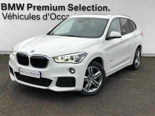 Occasion BMW X1 xDrive25dA 231ch M Sport 2017 Blanc 32990 € à Metz