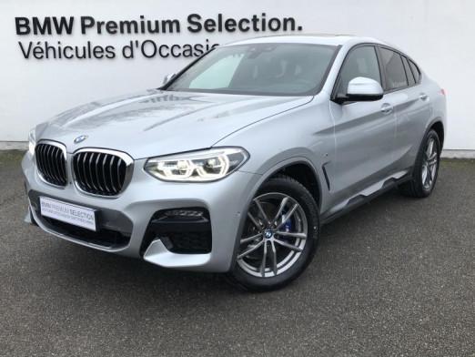 Occasion BMW X4 xDrive30d 265ch M Sport X Euro6d-T 2020 Glaciersilber 76900 € à Metz