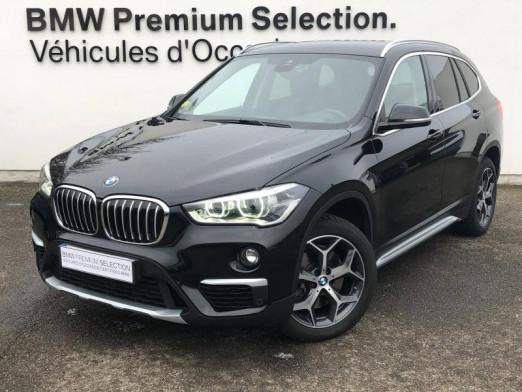Occasion BMW X1 xDrive20dA 190ch xLine 2019 Saphirschwarz 34990 € à Metz