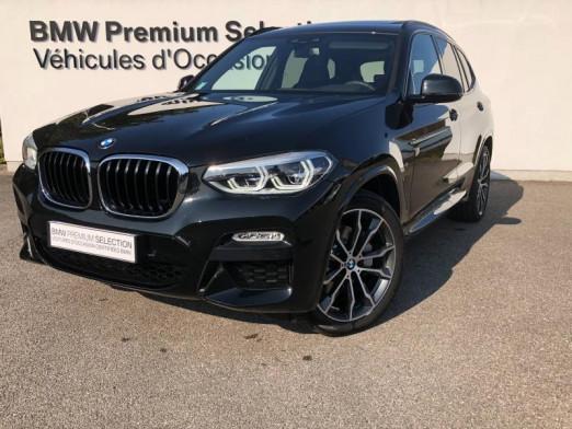 Occasion BMW X3 xDrive25dA 231ch M Sport Euro6c 2020 Saphirschwarz 66700 € à Metz