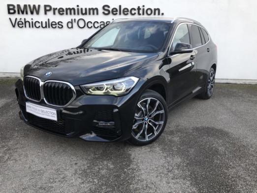 Occasion BMW X1 sDrive20iA 192ch M Sport DKG7 10cv 2020 Saphirschwarz 45500 € à Metz