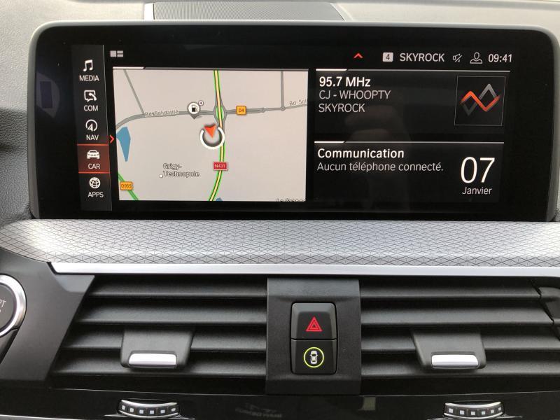 Occasion BMW X4 xDrive20d 190ch M Sport Euro6d-T 2020 Saphirschwarz 68500 € à Metz