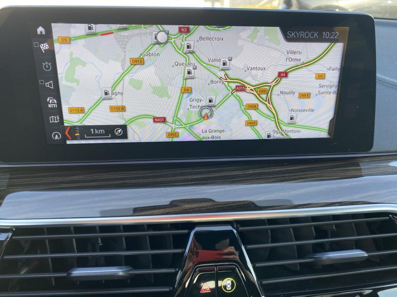 Occasion BMW Série 5 520dA xDrive 190ch Luxury 2019 Saphirschwarz 37990 € à Metz