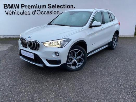 Occasion BMW X1 sDrive18dA 150ch xLine 2017 Mineralweiss 28990 € à Metz