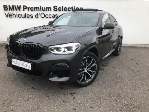 Occasion BMW X4 xDrive20d 190ch M Sport Euro6d-T 131g 2020 Sophistograu 72500 € à Metz