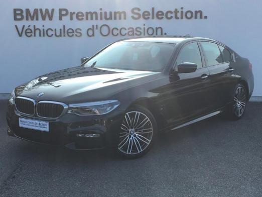 Occasion BMW Série 5 530eA iPerformance 252ch M Sport Steptronic 2018 Saphirschwarz 35990 € à Metz